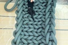 "20 Knoop bed ""Phat Knitt"" 2"