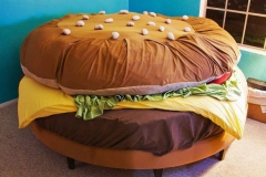 6 Het hamburger bed
