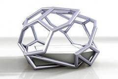 8 Geometrisch bed