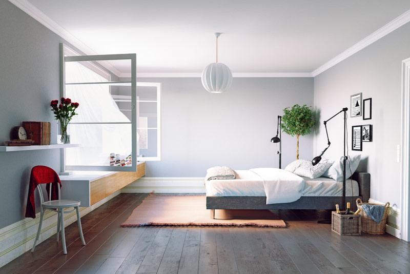 Voldoende ventilatie is vooral in de slaapkamer van groot belang