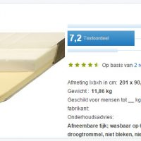 Consumentenbond beste koop wederom matig Ikea matras