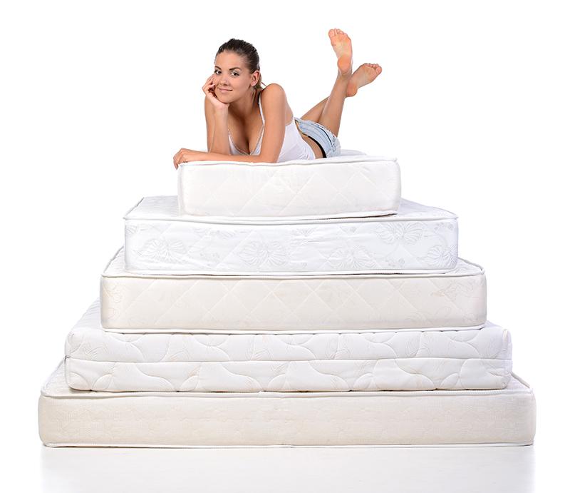 de grootte van het bed u kunt een matras op maat laten maken