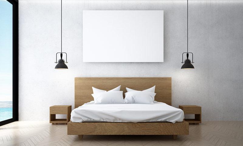 Een ledikant bed
