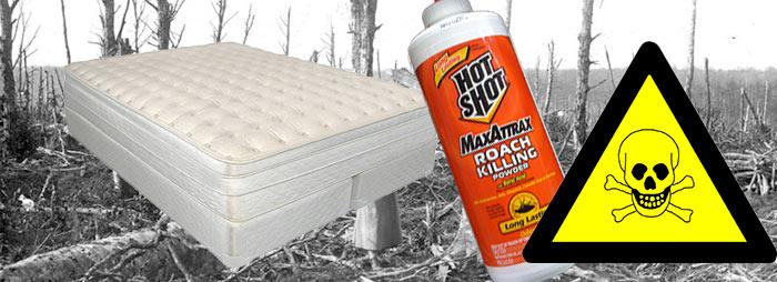 Giftige stoffen in matrassen