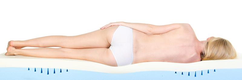 Kenmerken zoals lichaamsgewicht en postuur spelen een rol bij een nieuw bed
