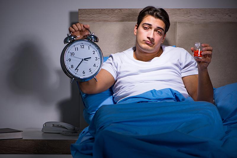 Slaapmiddelen gebruiken bij slaapproblemenn