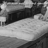 Matrassen met de hand gemaakt