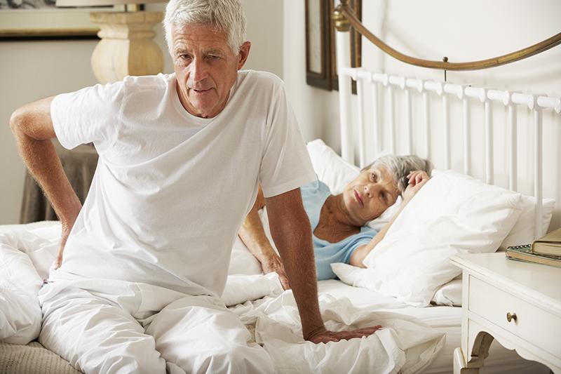 Onderzoek bewijst link tussen oud matras en rugpijn matras