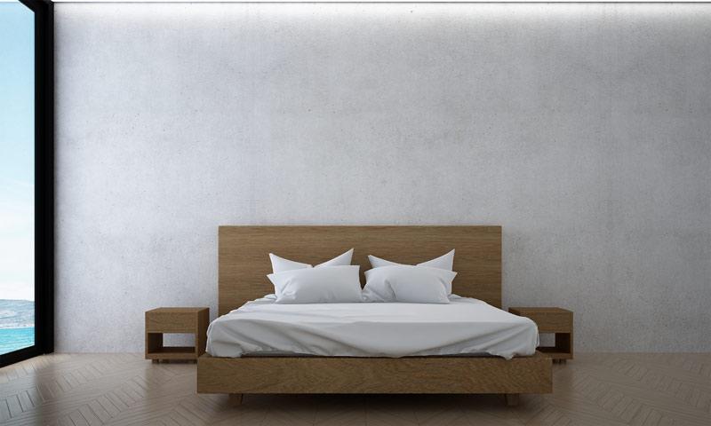 schoonmaken en herinrichting van de slaapkamer in verband met huisstofmijt