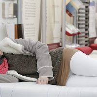 Tip voor het proefliggen op een matras
