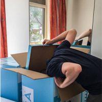 Matrassen start-ups leveren hun matrassen vacuum en opgerold in een doos