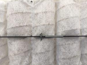 Hoe zit een pocket matras in elkaar?