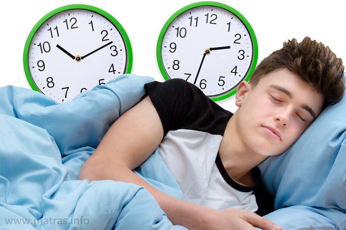 Pubers moeten uitslapen