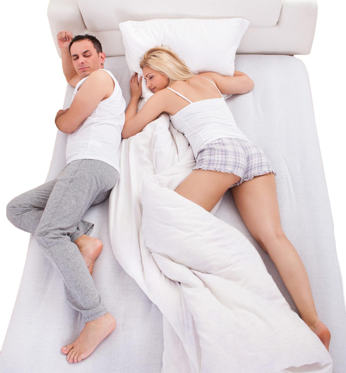 Verschillend slaapritme en verschillende slaapgewoontes