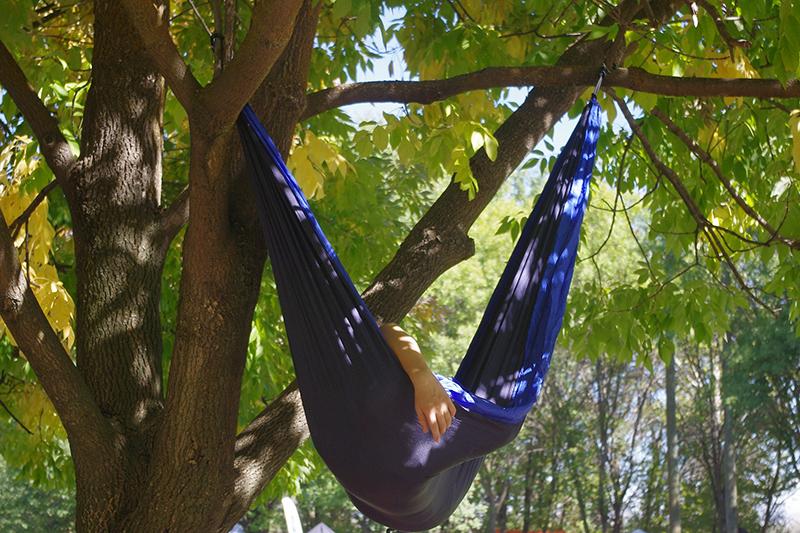 Slapen in de natuur