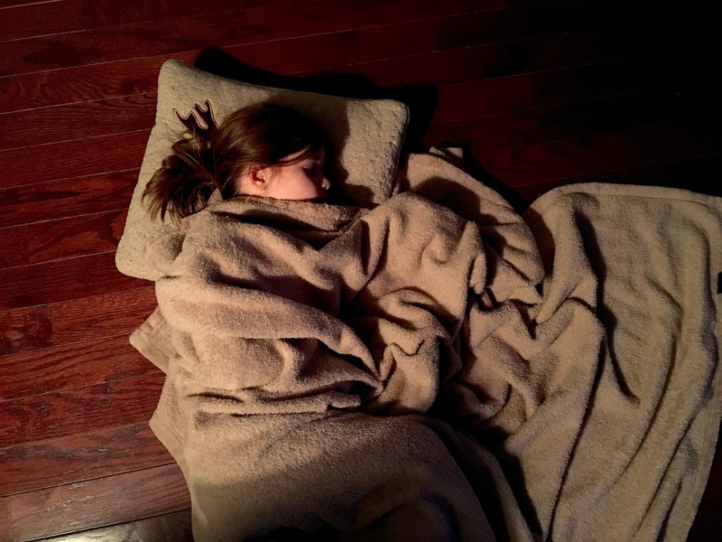 Op de grond slapen goed of niet goed matras