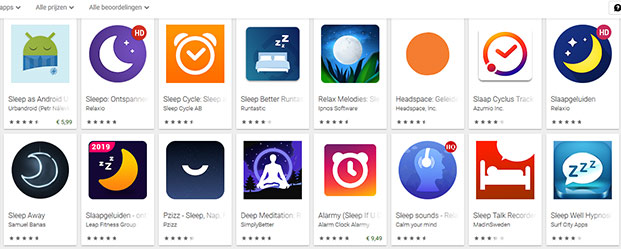 Helpen slaap-apps he wel echt?