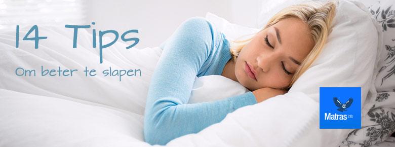 Goed slapen doe je met deze 14 tips voor een betere nachtrust