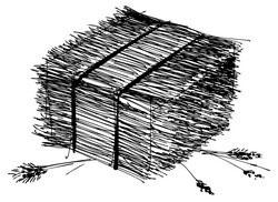Stro en riet als natuurlijke materialen in matrassen